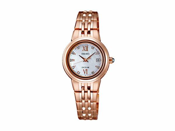 SEIKO セイコー エクセリーヌ ソーラー 電波 レディース 腕時計 SWCW060 国内正規:セレクトショップ NUMBER11