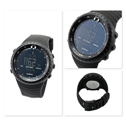 【即納・送料無料】SUUNTOスントCoreAllBlackコアオールブラックS01427901J[並行輸入品]【腕時計/ポイント/還元】
