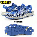 KEEN UNEEK FLAT 1018699 BLUE RAVEN キーン ユニークフラット ME...