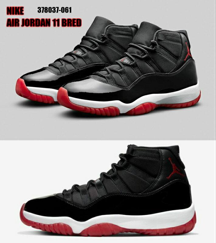 メンズ靴, スニーカー NIKE AIR JORDAN11 BRED 378037-061 NBA 26.5cm 27cm 27.5cm 28cm 28.5cm 29cm 30cm 31cm