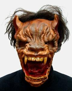 パーティーグッズ 仮装衣装/ フェイスマスク オオカミ - Face Mask Wolf【RCP】【はこぽす対応商品】