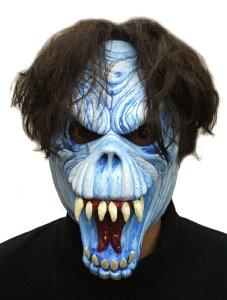 パーティーグッズ/ フェイスマスク 死神(青) - Face Mask Reaper Blue【RCP】【はこぽす対応商品】