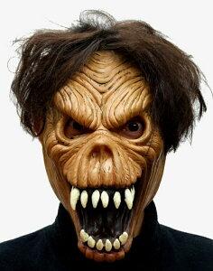 パーティーグッズ/ フェイスマスク 死神(茶) - Face Mask Reaper Brown【RCP】【はこぽす対応商品】