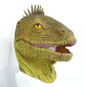 パーティーグッズ 仮装衣装/ アニマルマスク トカゲ とかげ 蜥蜴 恐竜【かぶりもの】/ものまね・なりきり 【RCP】【はこぽす対応商品】