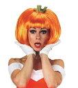 パンプキンウィッグ ウィッグ カツラ WIG 女性用 仮装 衣装 レディース ハロウィン 変装の商品画像