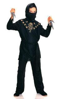 ハロウィンプレゼント付 在庫限り 子供 ニンジャ S 100-120cm対応 男の子 衣装 コスチューム 忍者 ハロウィン 変装 仮装