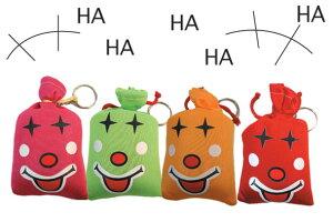【ジョークグッズ・いたずら・景品にも】笑い袋 4色アソート(色は選べません)【01Dec11P】