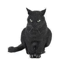 ジョークグッズ・いたずら・黒ネコ・ねこ到着後レビューを書いてプレゼント付/メガ黒ネコ 巨大...