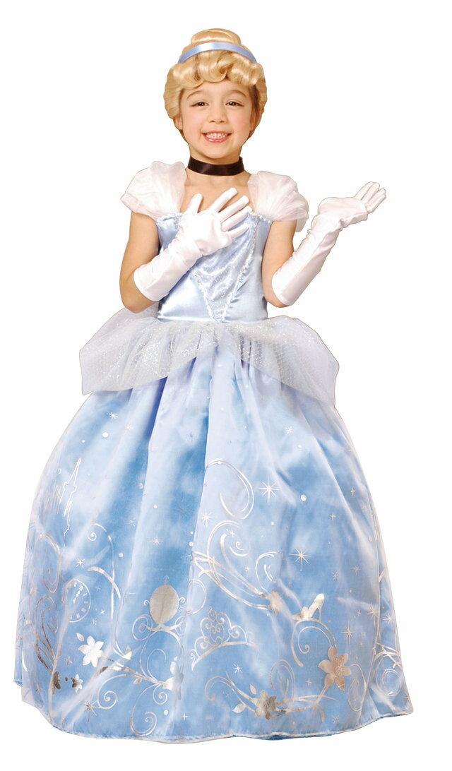 送料無料 子供 ドレスアップシンデレラTod 80,100cm対応 女の子 ディズニー プリンセス コスチューム コスプレ 変装 衣装 キャラクター  仮装 ハロウィン 公式