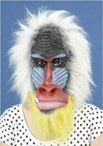 パーティーグッズ 仮装衣装/ アニマルマスク マンドリル/ものまね・なりきり 【RCP】【はこぽす対応商品】