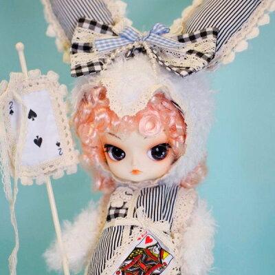 ドール、人形、プーリップ、DALスーパーSALE限定50%OFF 送料無料 / Romantic White rabbit(ロ...