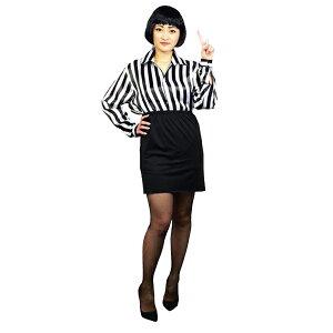 キャリアウーマン風4点セット男女兼用フリーサイズハロウィン仮装コスプレ芸人女芸人なりきりお笑いコスプレ宴会
