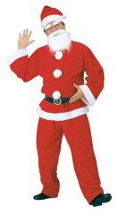 【サンタクロース衣装・クリスマスコスチューム】【11月上旬入荷予約】メンズサンタクロース ...