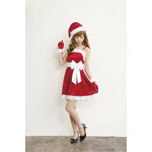 サンタコスチュームクリスマス衣装フェアリーサンタドレスレディース女性用