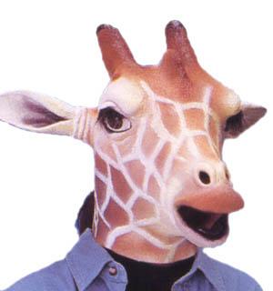 アニマルマスク キリン かぶりもの 動物マスク