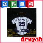 【新品】【訳有り】ピンバッジ ジェイソン・ジアンビ GIAMBI 25 MLB ヤンキース HOME ピーター デイビット Peter David [送料無料]【smtb-ms】【DM便】