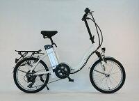 リチウム搭載!折りたたみモペット電動自転車IDATEN軽風20インチ