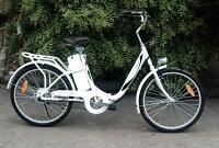 ★新型発売!モペット型電動自転車E-BIKE24(24インチ)