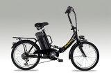 フル電動自転車E-BIKE20_PLUSブラス_6段変速付き(20インチ)専用布カゴ付き