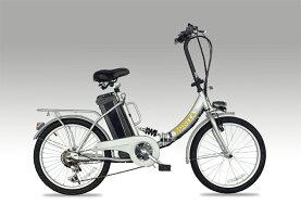 ★新発売!モペット型電動自転車E-BIKE20_PLUSブラス_6段変速付き(20インチ)専用布カゴ付き