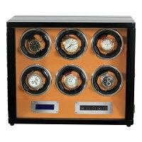 HOKUTOワインディングマシーン腕時計自動巻き器ウォッチワインダー3本巻き上げLEDライト付き超静音