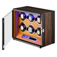 HOKUTOアロマディフューザー超音波式卓上加湿器ムードタイプスタイリッシュな加湿器空焚き防止機能搭載時間設定(木目調)
