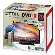 ★DR120DPWC20UE TDK 録画用DVD-R デジタル放送録画対応(CPRM) 1-16倍速 インクジェットプリンタ対応(ホワイト・ワイド) 20枚パック 5mmスリムケース