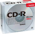 ★CDR80BSBX10P イメーション CD-R 52倍速対応 700MB 10枚