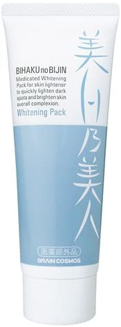 美白乃美人ホワイトニングパック / 本体 / 100g / ホワイトフローラルの香り