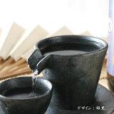 日本酒 カネコ小兵製陶所 シズル冷酒器 注いだお酒 が流れる風流な酒器 グッズ グラス 父の日プレゼント 父の日ギフト あさ開