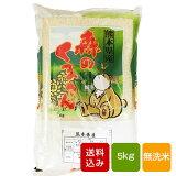 森のくまさん 無洗米 5kg 一等米 熊本県産 令和2年産 ギフト