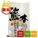 【新米】熊本コシヒカリ 無洗米 5kg 一等米 熊本県産 令和元年産 送料無料