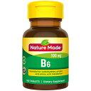 【ポイント5倍】 ネイチャーメイド Nature Made ビタミンB6 タブレット 100粒 100日分 100mcg サプリメント ビタミン アメリカ その1