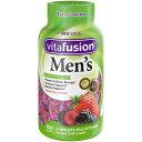 【ポイント5倍】 ビタフュージョン 男性用 総合ビタミン グミ フルーツ味 150粒 75日分 Vitafusion サプリメント ビタミン アメリカ
