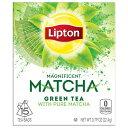 【ポイント5倍】 送料無料 緑茶 グリンティー リプトン Lipton マグニフィセント 抹茶 グリーンティー ティーバッグ 15個入