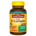 【ポイント5倍】 ネイチャーメイド Nature Made スーパーB コンプレックス ビタミンC タブレット 140粒 140日分 代謝 免疫 サポート サプリメント ビタミン アメリカ