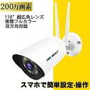 防犯カメラ ワイヤレス 屋外 監視カメラ 300万画素 5G対応 防犯灯 IP6
