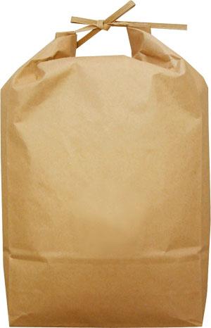 ⑨ 米袋 ひも付クラフト 無地 5kg用×100枚