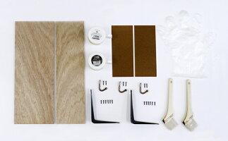 [アサヒペン公式]工作キット中級者向けアンティーク調フック付飾り棚