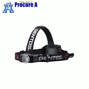 GENTOS Gシリーズ ヘッドライト 001RG GH-001RG ▼779-8016 ジェントス(株)