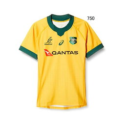 ラグビー オーストラリア代表 アシックス ワラビーズ ホーム ゲーム ジャージ レプリカ 2111A821
