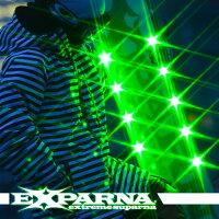 光るスノーボード「エクスパルナ」EXPARNAGLINTスノーボード板size145150155SHININGBOARDS大光量のPOWERLED