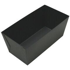 【パウンドケーキ型】型離れがよくお手入れ楽々♪ Blackミニパウンド型 大