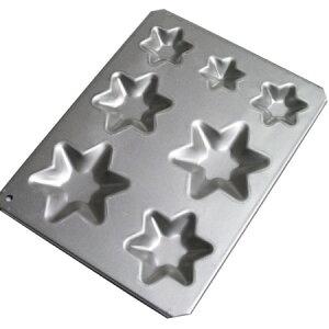 星を重ねてツリーに★1度に7つの星が焼けます♪【クリスマス用品20%OFF】★今季新商品★マドレ...