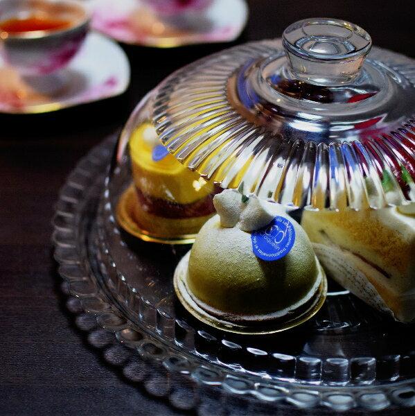 リュミナーク ガラスケーキドーム