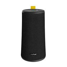 EarFun UBOOM ワイヤレススピーカー 24W 360°サウンド Bluetooth 5.0 重低音強化 16時間連続再生 IPX7完全防水 【デュアルパッシブラジエーター/DSP処理/ステレオペアリング機能】 USB-C充電 インドア・アウトドアサウンドモード ブラック