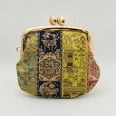 龍村美術織物 がま口 紅牙瑞錦(こうげずいきん) 2.5寸 がま口財布 ミニがま口 tgw05