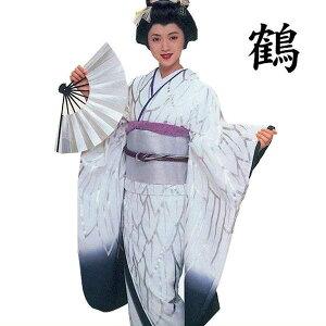 お仕立上りです。鶴や鷺をイメージした中振袖。2色よりお選びください。【送料無料】中振袖裾引...