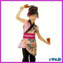 子供用のよさこい衣装!袖なし半纏と帯の2点セット。(ストレッチパンツ等は別売り)【子供用】...