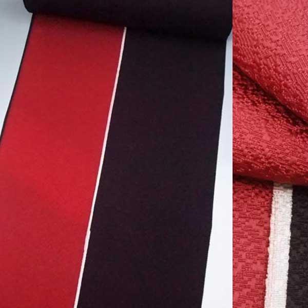 正絹羽尺反物6 リバーシブル 道中着 コート地着物 羽織きもの はおり 反物:浅草きもの市